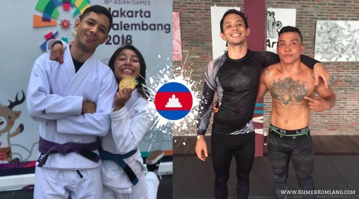 """Vivaddhana """"Vi"""" Khaou, Jessa Khan, Chan Rothana Khmer Komlang"""