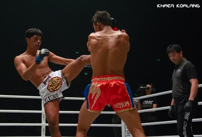 Lao Chetra Superlek Kiatmoo9 ONE Championship Khmer Komlang