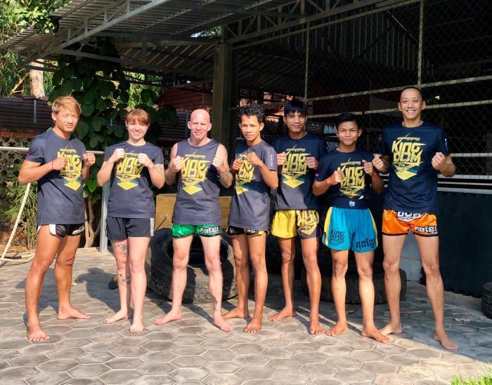 Kingdom Fight Gym Siem Reap Khmer Komlang