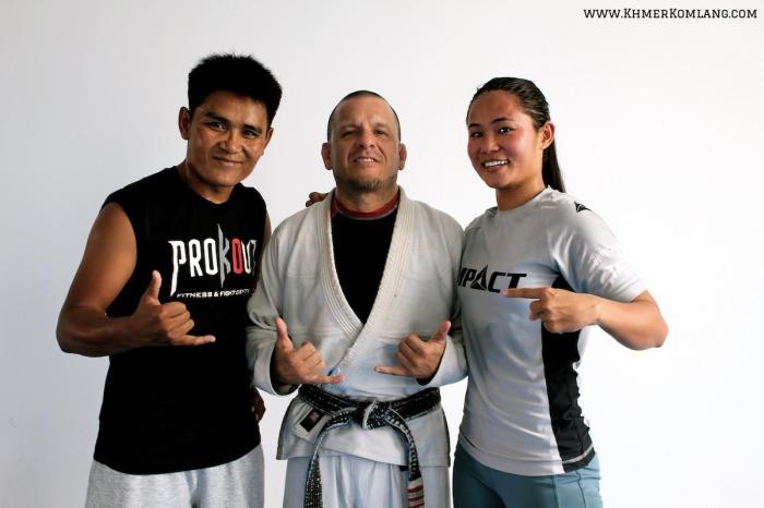 Khon Sichan Fernando Salvadore Sam Tharoth ONE Championship Khmer Komlang